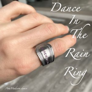 Dance In The Rain Studded Ring