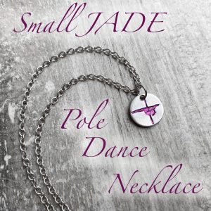 Small Jade Pole Dance Necklace